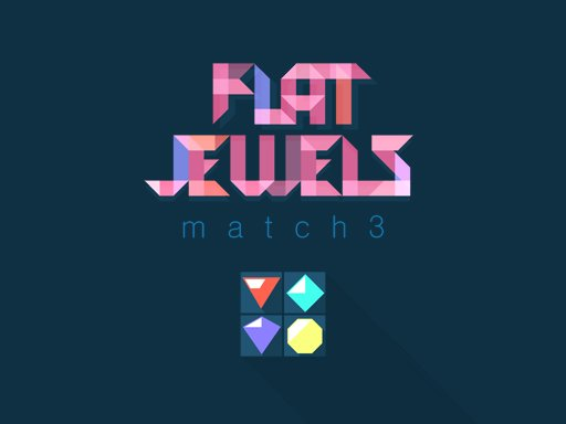 Flat Jewels Match 3