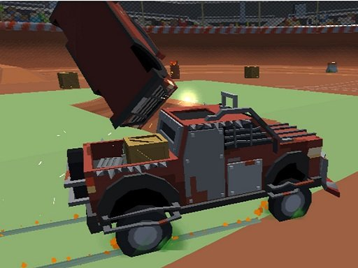 Pixel Car Crash Demolition v1